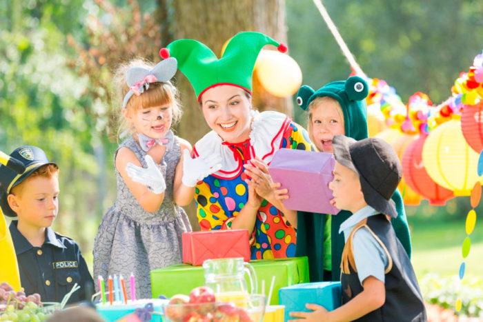 ¿Qué se debe de considerar en una fiesta infantil?