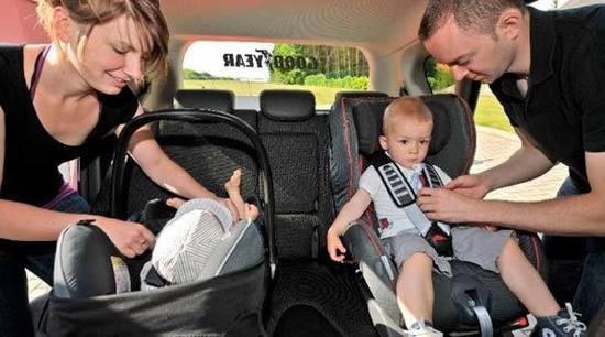 ¿Cómo instalar correctamente las sillas de coche para niños?